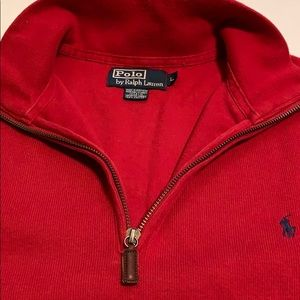 Polo by Ralph Lauren Pima Cotton Mockneck Pullover